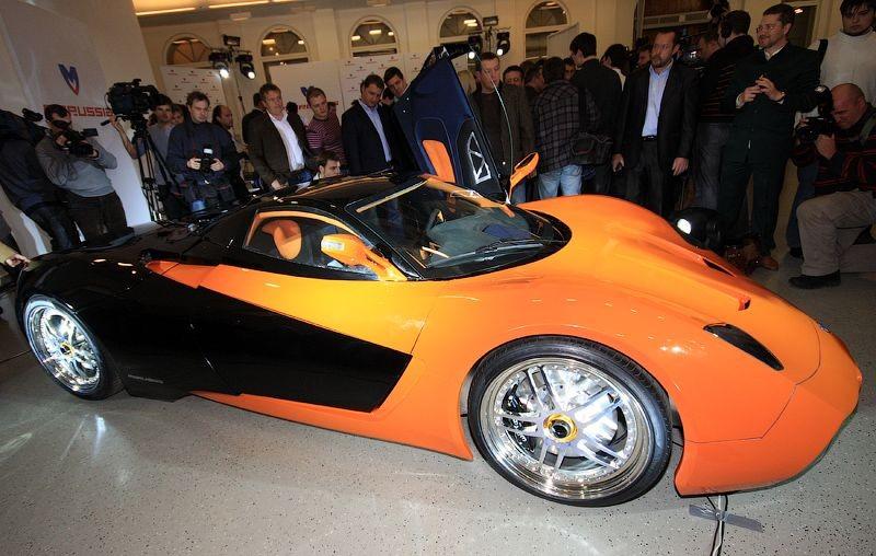 Russian sports car 11