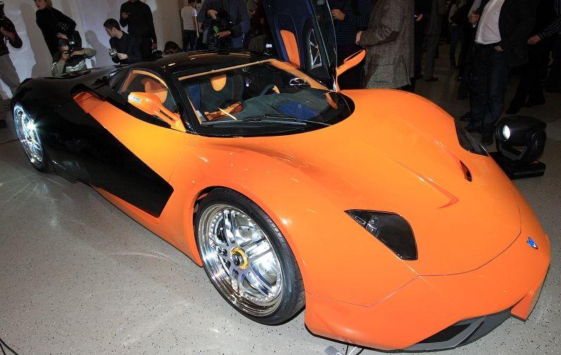 Russian sports car 5