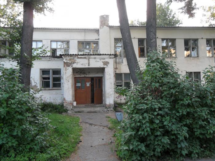 Russian maternity clinic