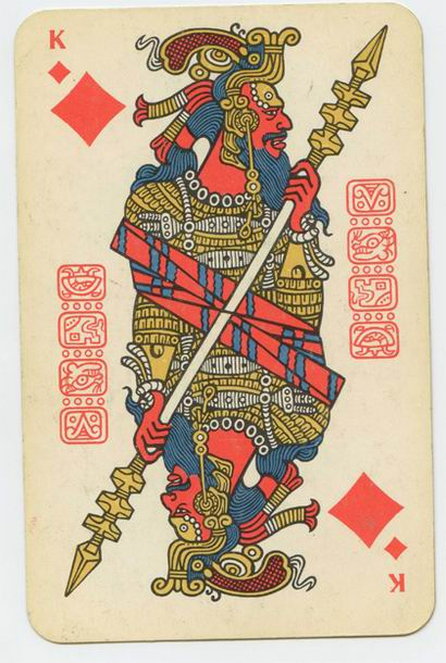 Russian playing cards 12