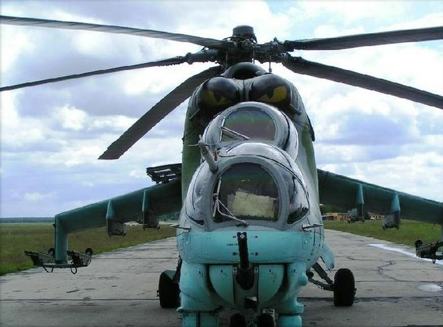mi-24, Russian helicopter