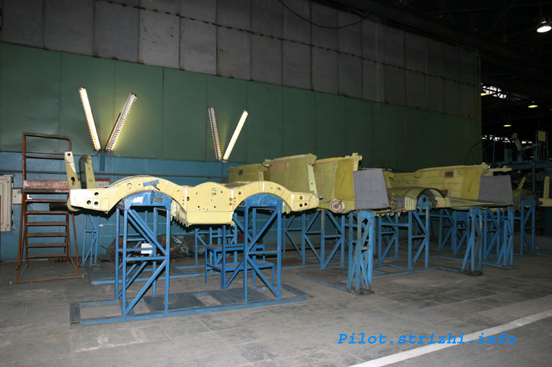 Russian mig jets factory 11