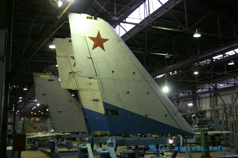 Russian mig jets factory 12