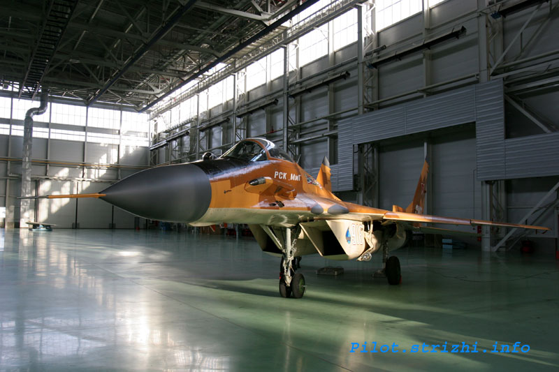 Russian mig jets factory 13