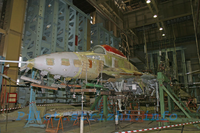 Russian mig jets factory 14