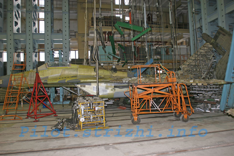 Russian mig jets factory 15
