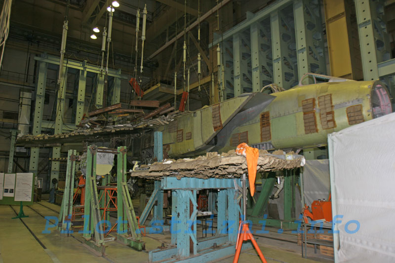 Russian mig jets factory 17