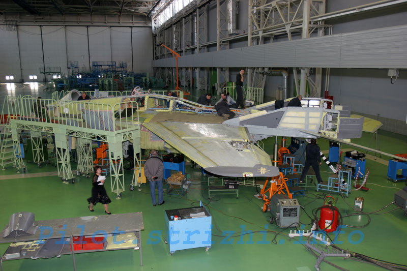 Russian mig jets factory 2