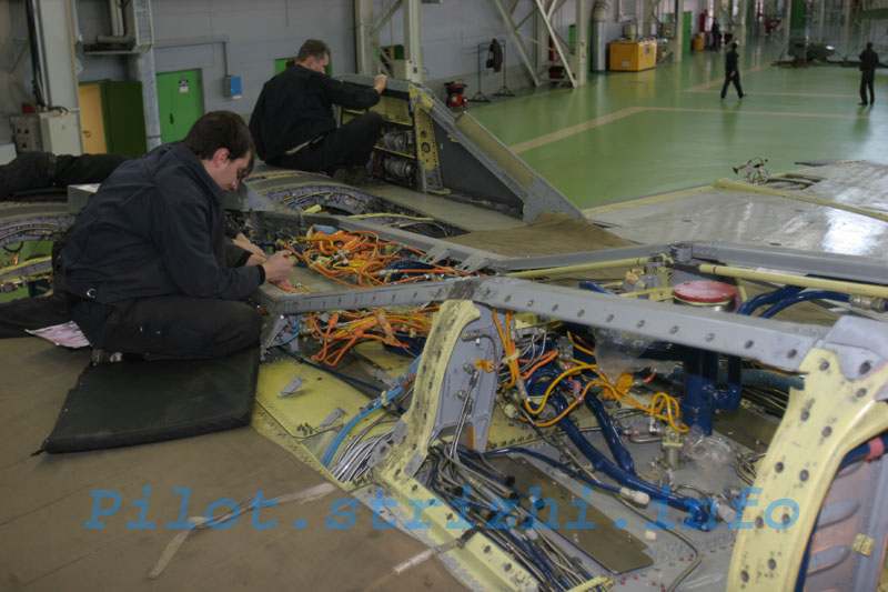 Russian mig jets factory 5
