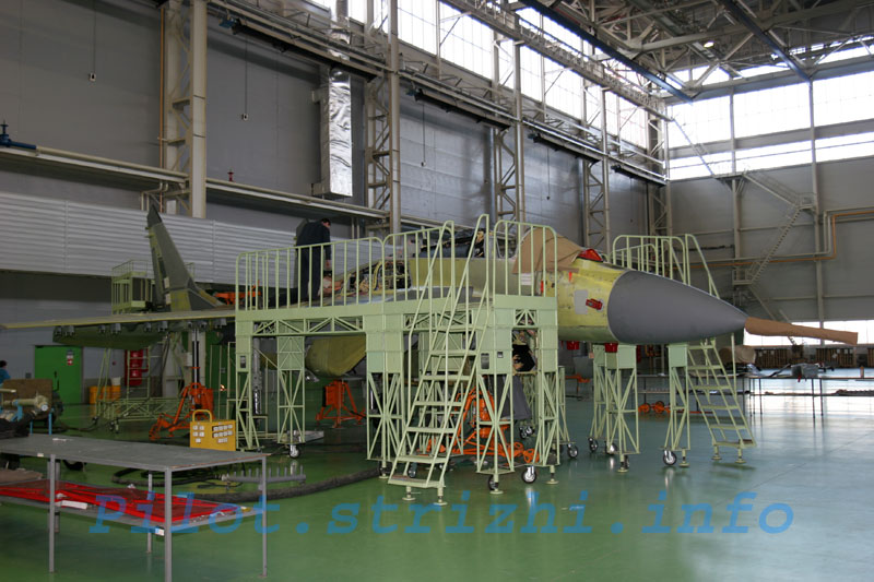 Russian mig jets factory 6