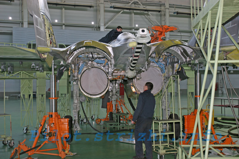 Russian mig jets factory 7