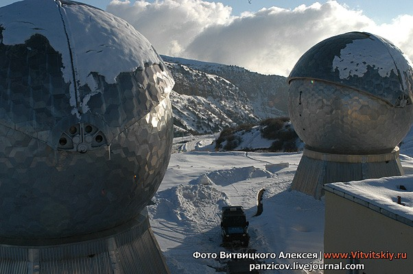 Russian army and its Russian telescopes