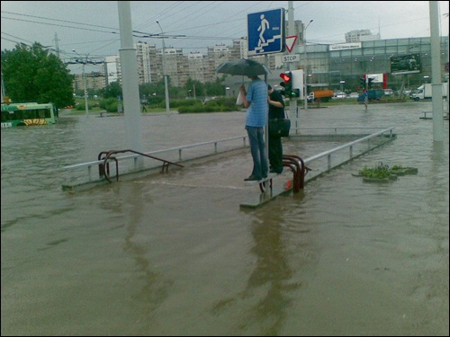 Flooding in Minsk 10