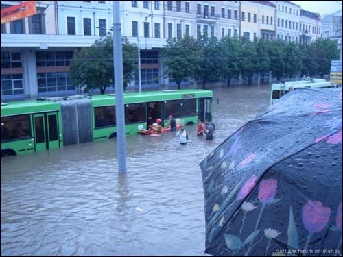 Flooding in Minsk 11