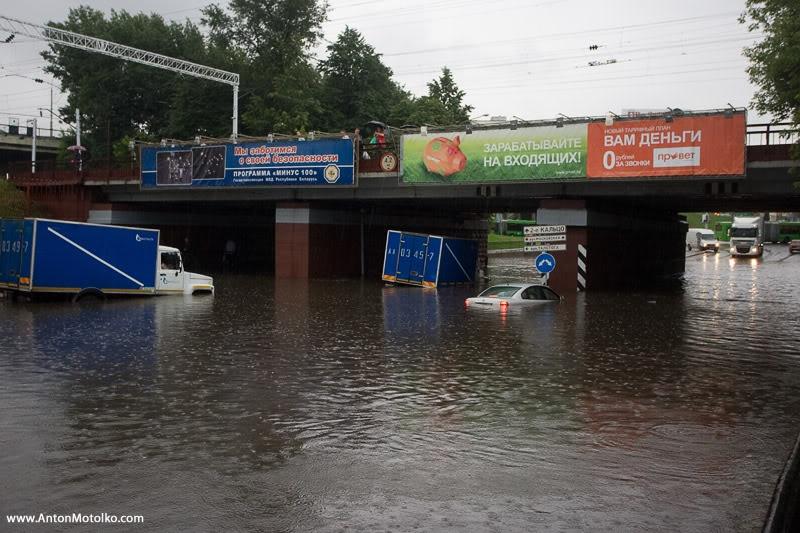 Flooding in Minsk 13