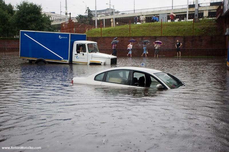 Flooding in Minsk 14