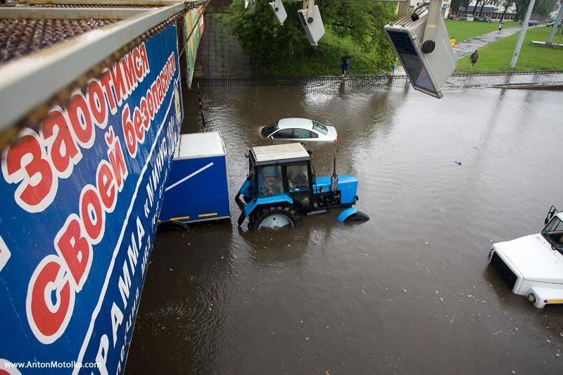 Flooding in Minsk 15