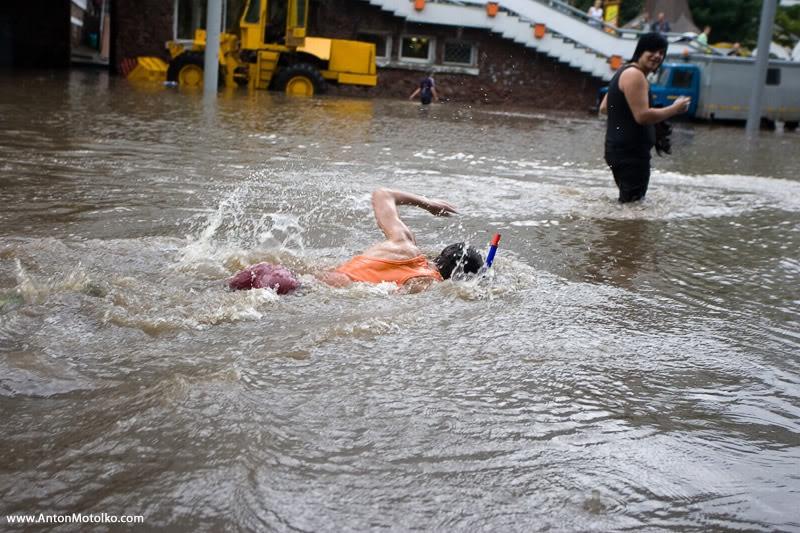 Flooding in Minsk 16