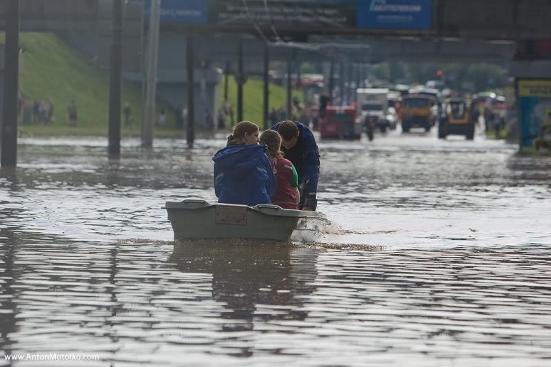 Flooding in Minsk 19