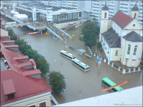 Flooding in Minsk 2