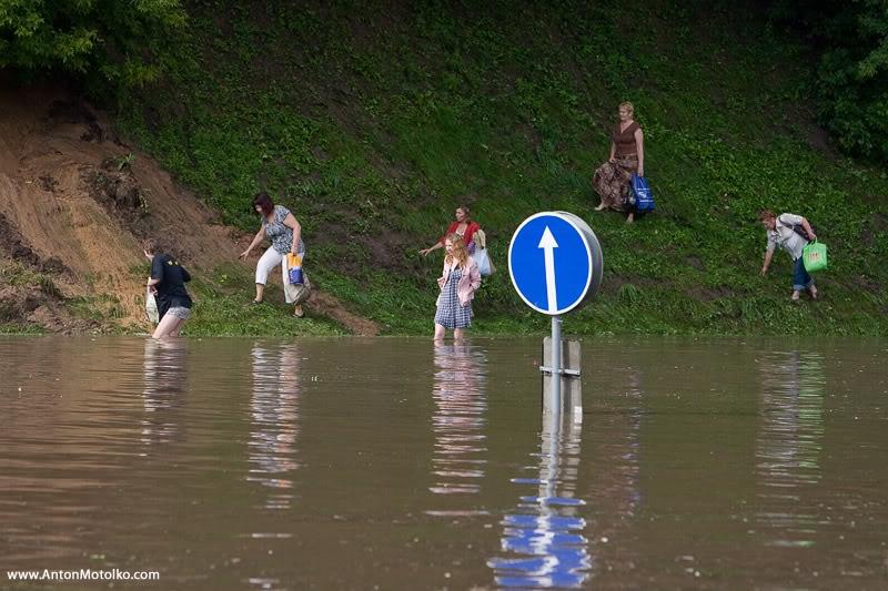 Flooding in Minsk 22