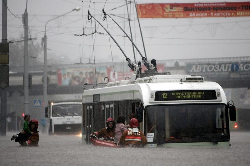 Flooding in Minsk 23
