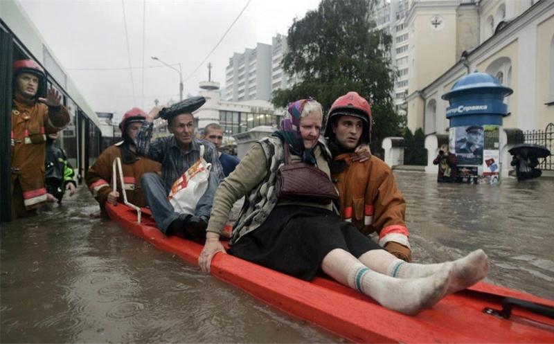 Flooding in Minsk 24
