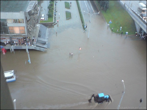 Flooding in Minsk 3