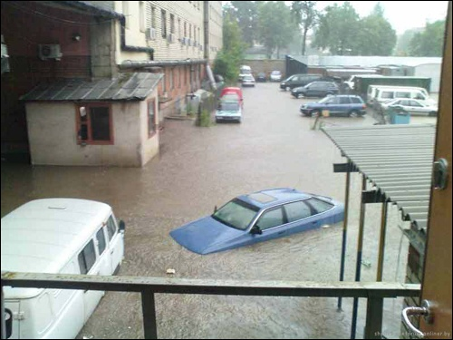 Flooding in Minsk 4