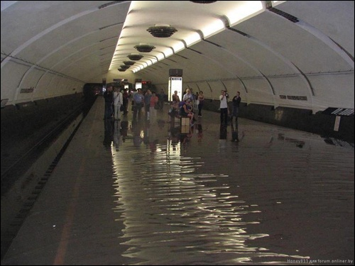 Flooding in Minsk 8