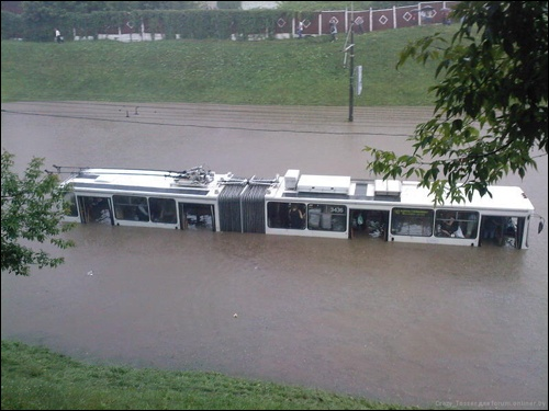Flooding in Minsk 9