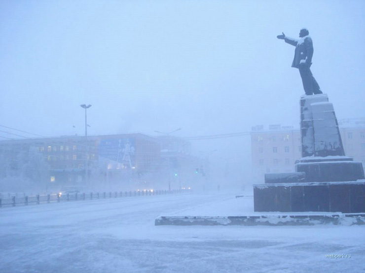 extreme cold in Russia 14