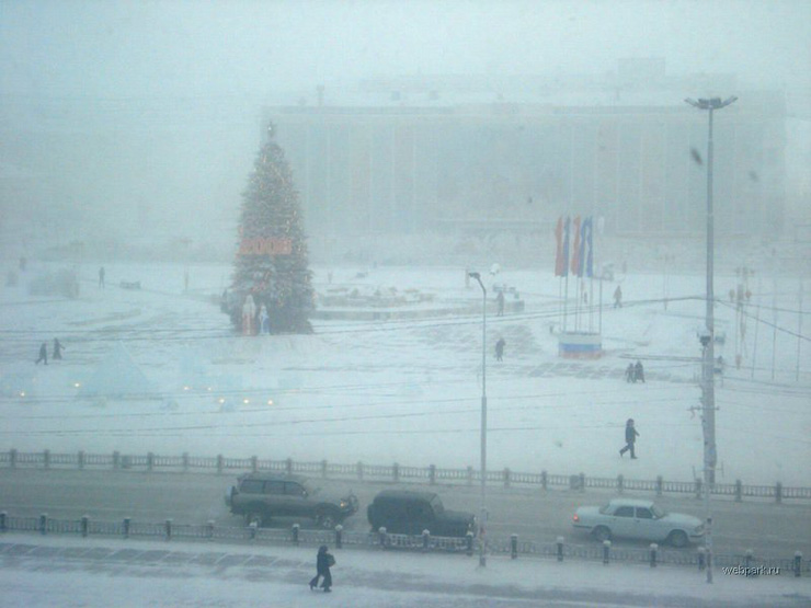 extreme cold in Russia 15