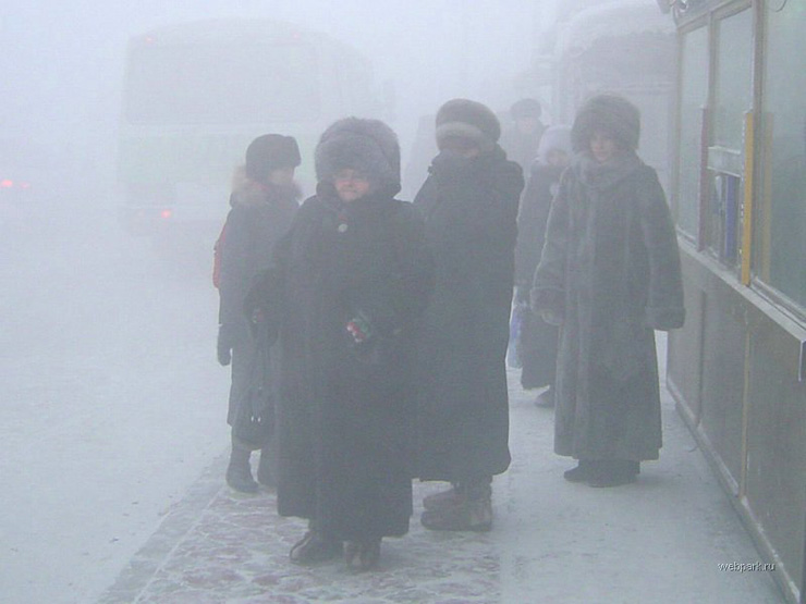 extreme cold in Russia 16