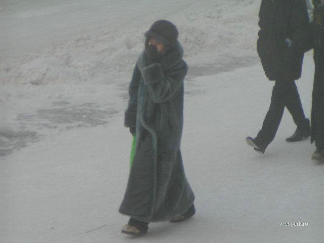 extreme cold in Russia 9