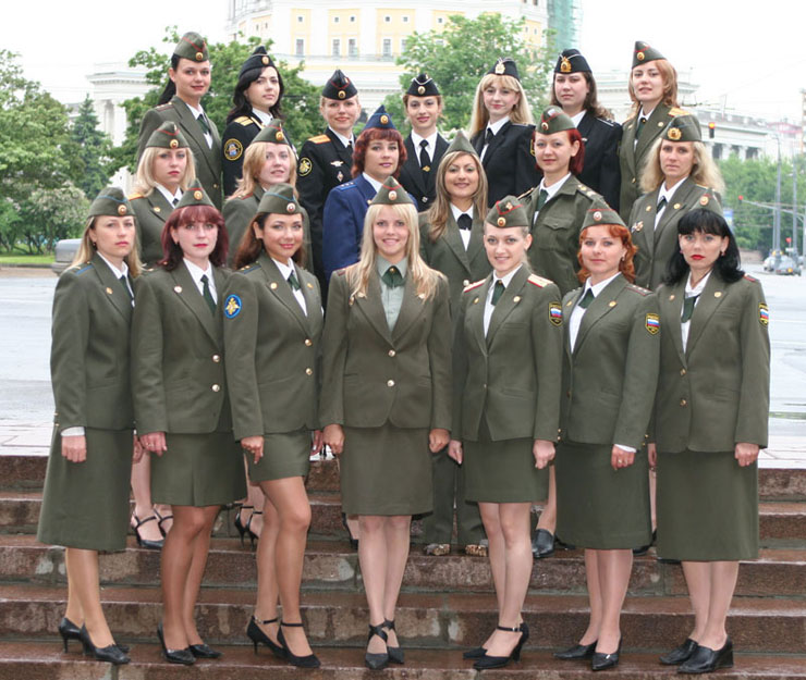 Russian Army Beauty Contest 1