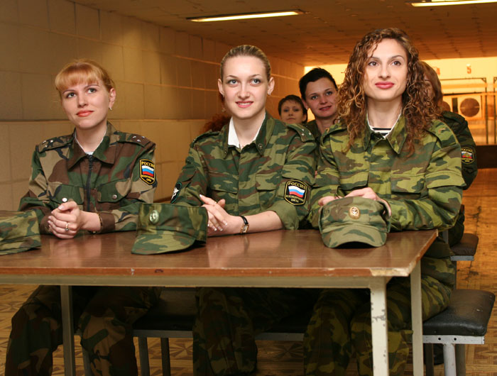 Russian Army Beauty Contest 3