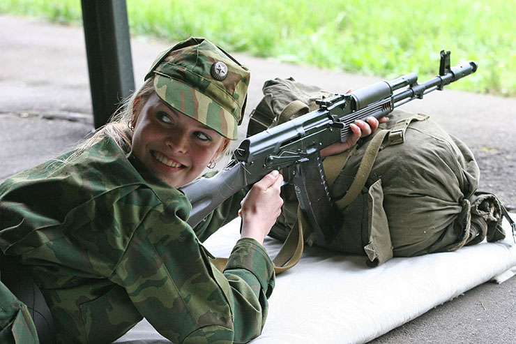 Russian Army Beauty Contest 6