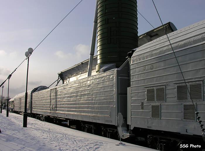 اطلاق الصواريخ من القطارات. 4