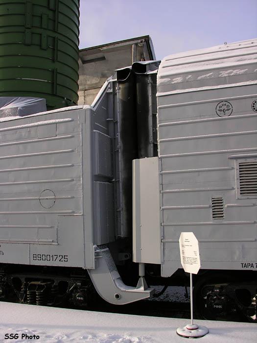 اطلاق الصواريخ من القطارات. 5