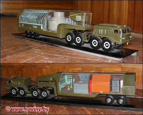 Russian mobile nuclear station 3