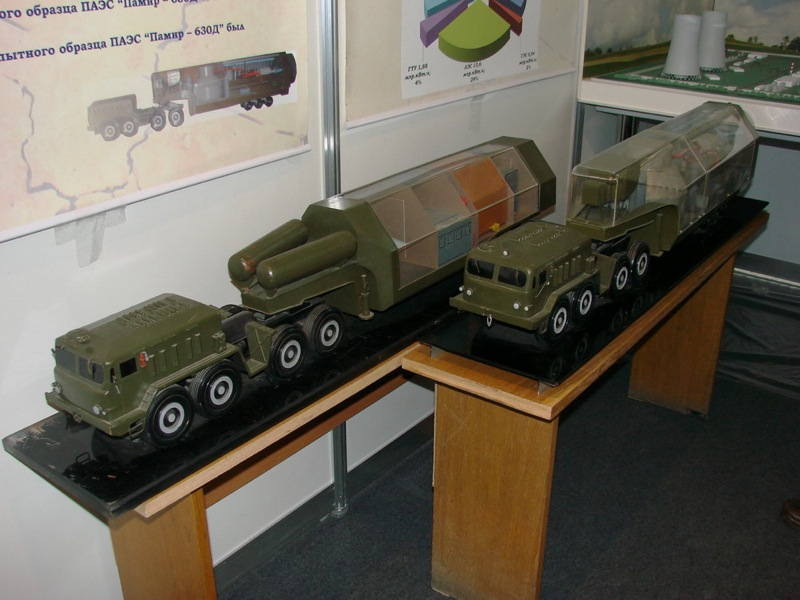 Russian mobile nuclear station 5