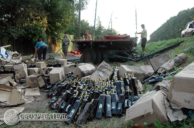 car accident with moldavian wine 2