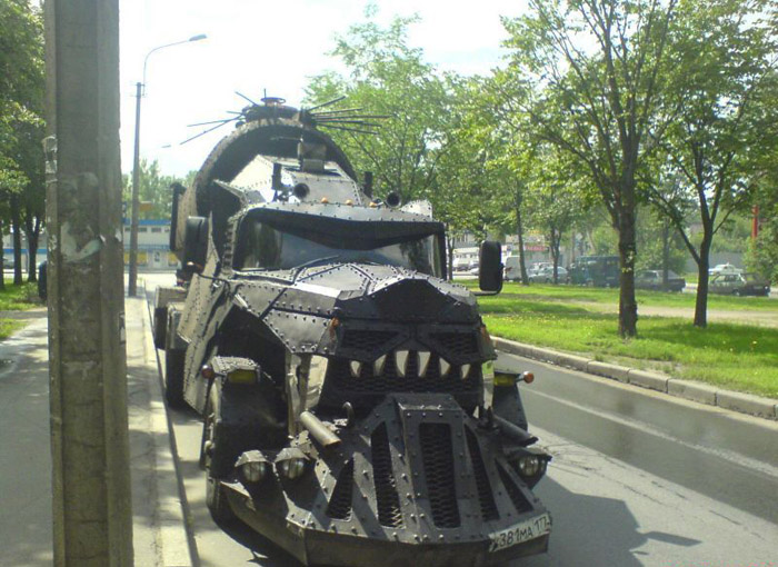 More Pictures of Mad Max Truck 1