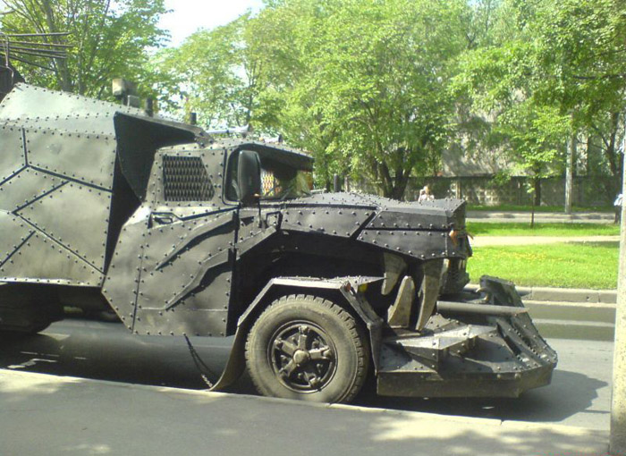 More Pictures of Mad Max Truck 2