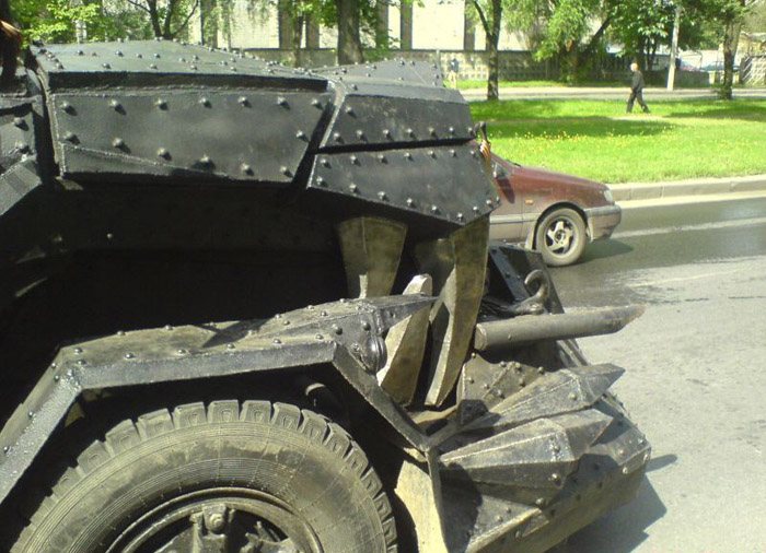 More Pictures of Mad Max Truck 4