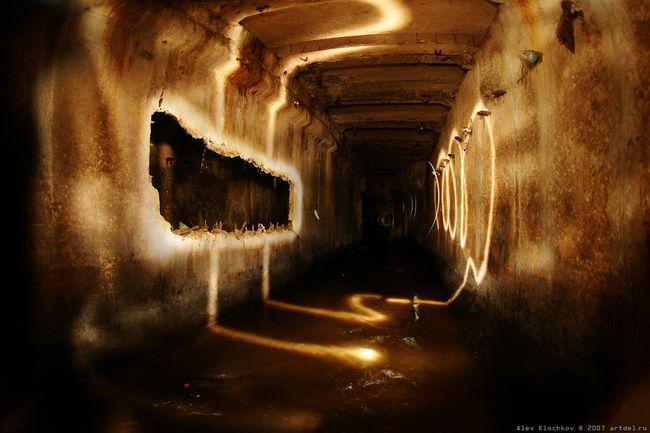 underground river under Moscow 1