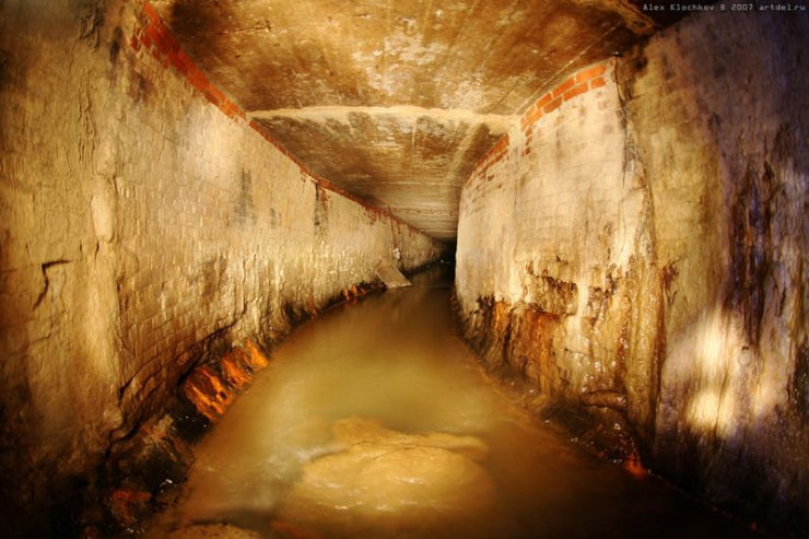 underground river under Moscow 2