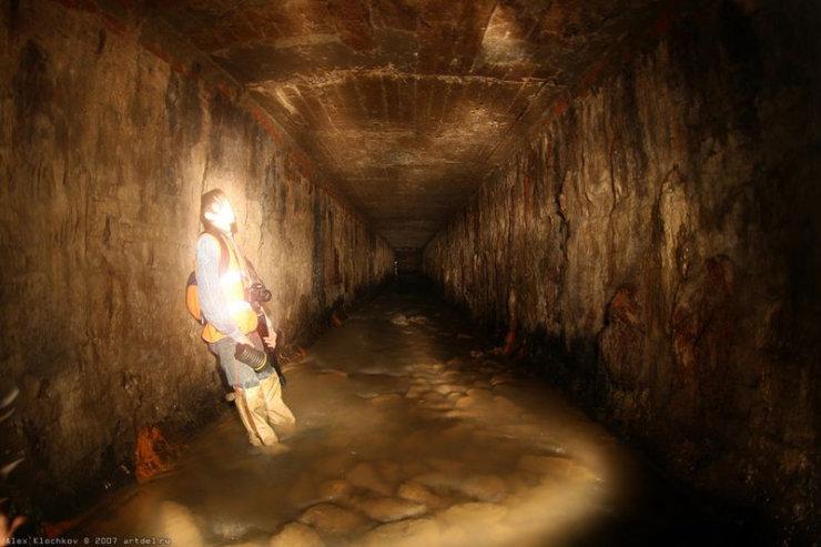 underground river under Moscow 6