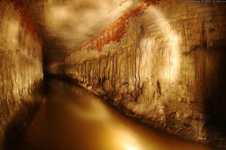 underground river under Moscow 7